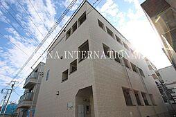 埼玉県八潮市大字大瀬の賃貸アパートの外観