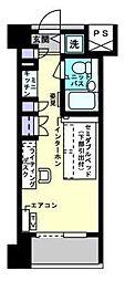 アルファコンフォート博多[6階]の間取り