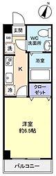 アリビオ八千代台西[5階]の間取り