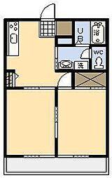 サン・グレイスII[103号室]の間取り