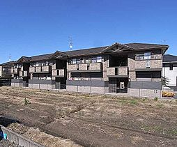 京都府京都市西京区樫原下池田町の賃貸アパートの外観