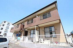 愛知県豊田市大林町13丁目の賃貸アパートの外観