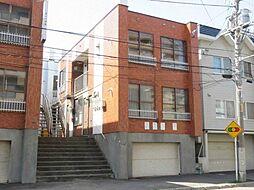 東札幌ハイツA[1階]の外観
