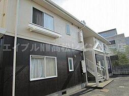 香川県高松市高松町の賃貸アパートの外観