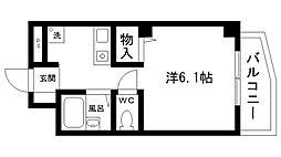 夙川ハイツAIOI[303号室]の間取り