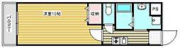 ル・クール花園[3階]の間取り