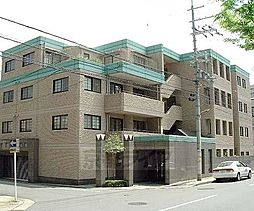 京都府京都市左京区下鴨北園町の賃貸マンションの外観