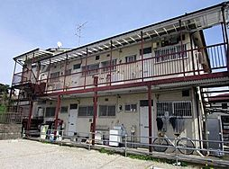 千葉県松戸市小金上総町の賃貸アパートの外観