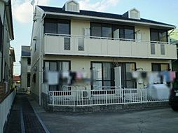 愛知県名古屋市北区楠1丁目の賃貸アパートの外観