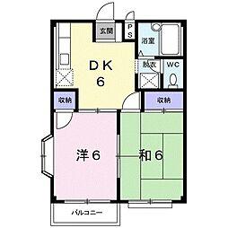 エルディムSANK[2階]の間取り