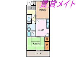Ele Reve KawazoeA棟[1階]の間取り
