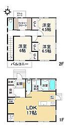 福岡市地下鉄七隈線 賀茂駅 徒歩8分 2SLDKの間取り