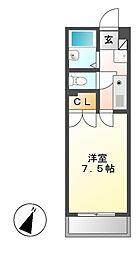 タウンライフ星ヶ丘[2階]の間取り