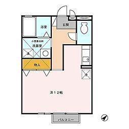 IRIS II[2階]の間取り