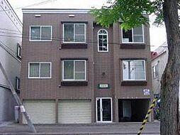 フォレストヒルズ東札幌[3階]の外観