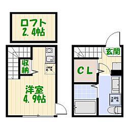 (仮称)柴又6丁目Aコーポ[0103号室]の間取り