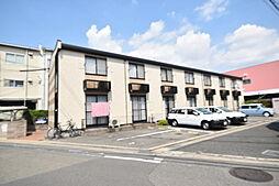 大阪府八尾市西久宝寺の賃貸アパートの外観