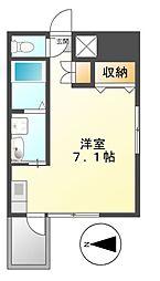 プレミアムコート名古屋金山インテルノ[12階]の間取り