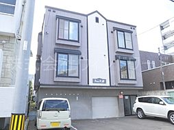 北海道札幌市中央区北二条西20丁目の賃貸アパートの外観