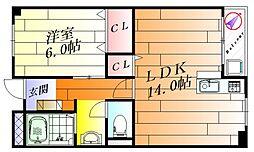 メゾン碧荘[1階]の間取り