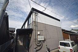 大阪府柏原市本郷3丁目の賃貸アパートの外観