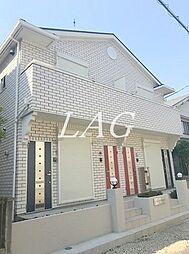 埼玉県蕨市北町2丁目の賃貸アパートの外観