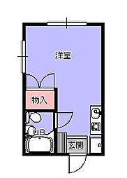 エステートピア竹田[2階]の間取り