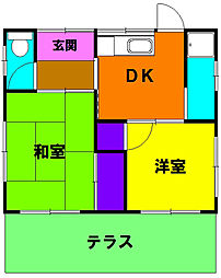 [一戸建] 静岡県浜松市南区頭陀寺町 の賃貸【/】の間取り