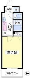 フォレステージ桜川8階Fの間取り画像