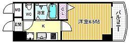 HOPECITY天神橋[8階]の間取り