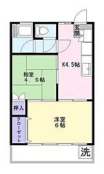 千葉県船橋市宮本4丁目の賃貸マンションの間取り