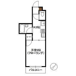 N4三宅[103号室]の間取り