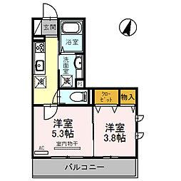 グレイスハウスII[3階]の間取り