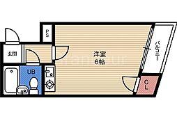 富尾マンション[3階]の間取り