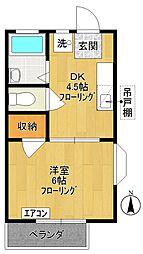 カームII[2階]の間取り