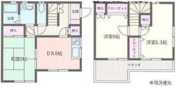 [一戸建] 神奈川県藤沢市石川3丁目 の賃貸【/】の間取り
