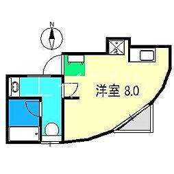 メゾン・シャトーレII[4階]の間取り