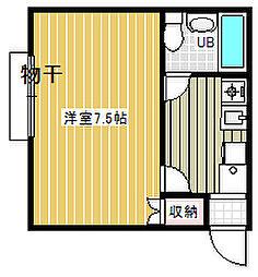 メルシー大塚1階Fの間取り画像