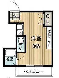 EAST COURT KITAYAMA[2階]の間取り