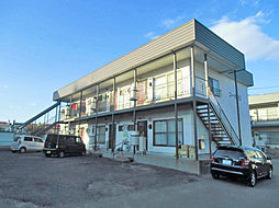 北海道札幌市白石区北郷一条4丁目の賃貸アパートの外観
