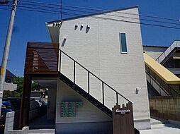 東京都板橋区坂下3丁目の賃貸アパートの外観