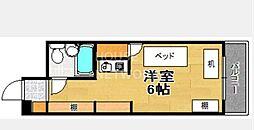 コーポ樋ノ口[201号室号室]の間取り