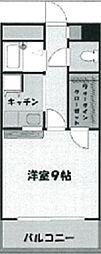 プルメリアガーデン[5階]の間取り