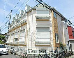 埼玉県川口市芝富士1丁目の賃貸アパートの外観
