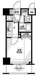 プレール・ドゥーク東京NORTHII[4階]の間取り