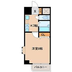 HIKOハイツ[3階]の間取り