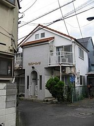 東京都北区豊島8丁目の賃貸アパートの外観