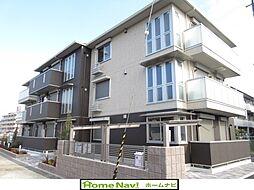 (仮称)D-room軽里[3階]の外観