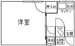 平田荘[1階]の間取り