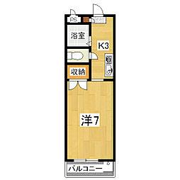 プランドール[2階]の間取り